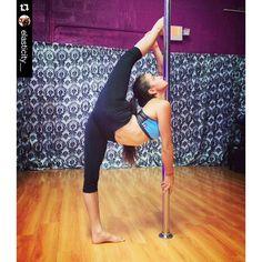 Nice bend! #polewear #theoriginalpolewear  #Repost @elasticity__ ・・・ Feeling Bendy ❤️ #backbending #badkitty #badkittypride #poledancing #pole #instructor #backbending #poledance #poledancenation #ig_poledance #polelove  #fitchicks #flexibility #flexible #contortion #elastic #polefit #workout #stretch #inshape #miami #passion #badkitty #badkittyusa #stronggirl #contortionist #aerial #polefit #splits @badkittyusa @ig_poledance @polefitnessvideos @upartists @poledanceart @poledancenation...