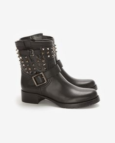 Valentino biker boot #fall