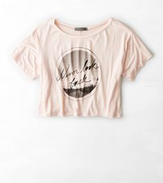 Don't Ask Why Cropped Graphic T-Shirt