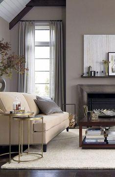 simple, elegant and modern living room design.