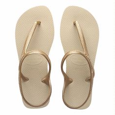 Havaianas flash urban - light golden / love them, look good and feel good, plus no flip flop sound when you walk!