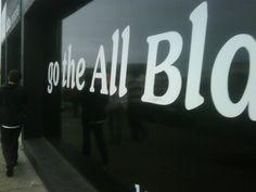 All Blacks support