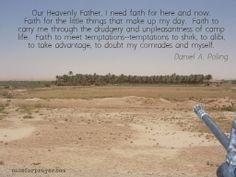 Faithfulness - Military Prayer
