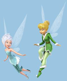 Periwinkle und Tinkerbell © Disney