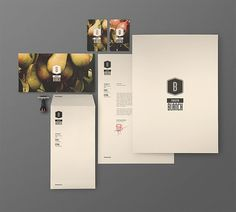 Atipus - Fruita Blanch #letterhead #businesscard #envelope