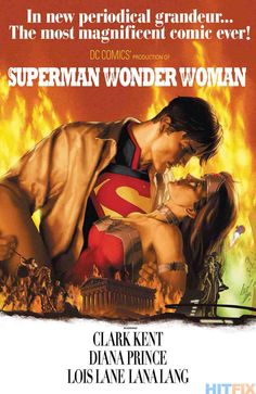 Gone with the Wind/ Superman-Wonder Woman