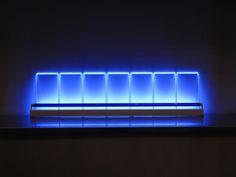 Eric Michel - Seven Keys Mono Blue | Artwork for Sale Artsper