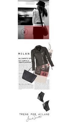 """vediamo a milano"" by sharmarie ❤ liked on Polyvore"