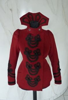 Red jacket, ca. 1898