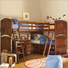 triplet bunkbeds by julianne