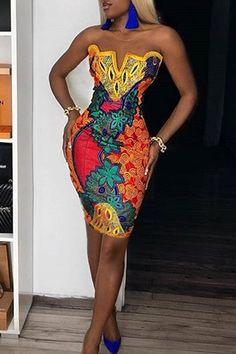 Ankara Dress Styles, African Print Dresses, African Dress, African Prints, African Wear, African Style, African Fabric, African Women, Event Dresses