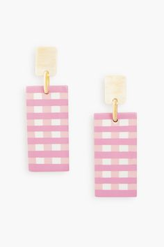 Jewelry | Tuckernuck Tienda Pink, Market Baskets, Pink Gingham, Monogram Styles, Cabana, Natural Materials, Neutral Colors, Horns, Paint Colors