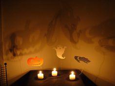 Velas para la fiesta de Halloween