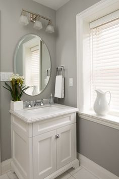 Residence 1 - transitional - powder room - toronto - Parkyn Design