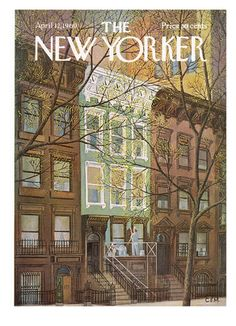 The New Yorker Cover - April 12, 1969 Giclée-Druck
