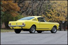 1965 Ford Mustang Fastback 289 CI   pretty damn close to my dream car... either way i still want it...