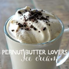 PB Ice Cream - Need a better blender to blend the Cottage cheese or just use yogurt.
