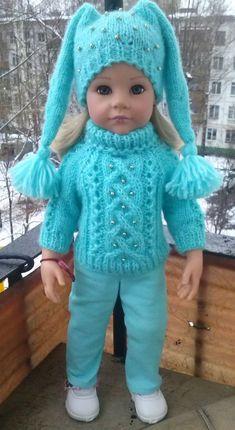 doll dress patterns Crochet dress girl pattern american dolls ideas for 2019 Knitting Dolls Clothes, Baby Doll Clothes, Crochet Doll Clothes, Knitted Dolls, Crochet Outfits, Dress Clothes, Children Clothes, Crochet Girls Dress Pattern, Crochet Doll Dress
