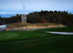 BIOMASS ENERGY PLANT - HOTCHKISS SCHOOL - CT USA  BY CENTERBROOK ARCHITECTS