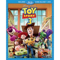 Toy Story 3 3-Disc BLU-RAY Combo Pack $20