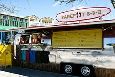 Barefoot BBQ. Great food from an Airstream trailer in Seaside, Florida
