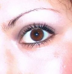 How this girl grew back her pencil-thin eyebrows - will be trying this! They're not pencil thin but they're short.
