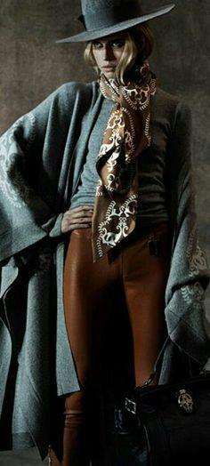 Thomas Wylde - Ready-to-Wear - Fall-Winter Cowgirl Chic, Western Chic, Cowgirl Style, Love Fashion, Fashion Outfits, Gypsy Fashion, Fashion Design, Female Fashion, Moda Boho