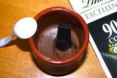 RECETA FITNESS/ Mousse de chocolate fit