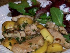 One Skillet Meals - Country Pork Skillet with Potatoes and Mushrooms