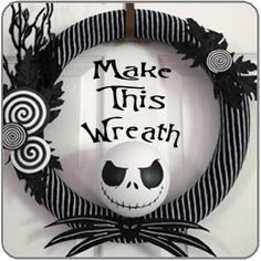 EPBOT: Plant Your Christmas Tree In a Potter-Inspired Tree Cauldron! Nightmare Before Christmas Wreath, Christmas Wreaths, Christmas Ornaments, Christmas Crafts, Halloween Decorations, Christmas Decorations, Halloween Crafts, Quick Crafts, Creepy Dolls