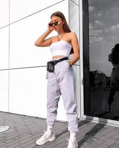 Get feedback on your own looks & rate other outfits. How many stars would you rate this look ? Rate fashion and get feedback on your style on the Cute Comfy Outfits, Lazy Outfits, Teen Fashion Outfits, Sporty Outfits, Teenager Outfits, Mode Outfits, Everyday Outfits, Look Fashion, Summer Outfits