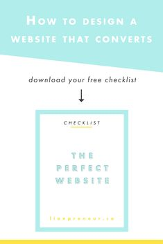 Your Website Should Solve Problems, Not Make Them! Grab This Free Checklist  If You Want To Learn:   How To Optimize Your Website To Reflect Your  Business ...