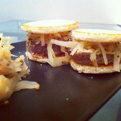 mini sandwich di polpettone
