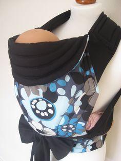 MEI TAI Baby Carrier / Sling / Reversible/ Funky Flowers in leg cut model. £24.49, via Etsy.