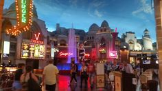 Happened upon this area at the back of the Miracle Mile shopping center at Planet Hollywood and fell in love with it.