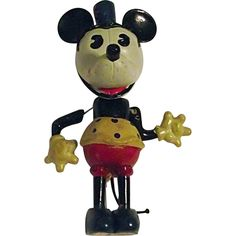 Minnie Mouse, Mickey Mouse Cartoon, Mickey Mouse Club, Mickey Mouse And Friends, Antique Toys, Vintage Toys, Miscellaneous Goods, Vintage Mickey, Toy Boxes
