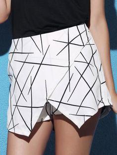 GET $50 NOW | Join Zaful: Get YOUR $50 NOW!http://m.zaful.com/striped-irregular-hem-high-waist-shorts-p_172082.html?seid=2234825zf172082