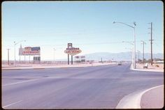 Arriving in Las Vegas in 1963.