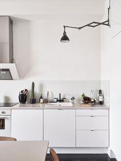 hvitt+hvitt kjøkken