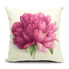 European Style Decor Flower Pillows, Throw Pillows, Sofa