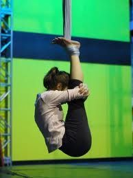 aerial yoga...oh to be this flexible!
