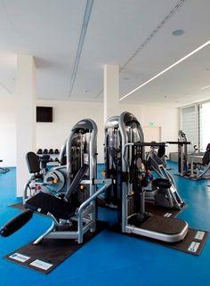Gym at Milan's Turro campus