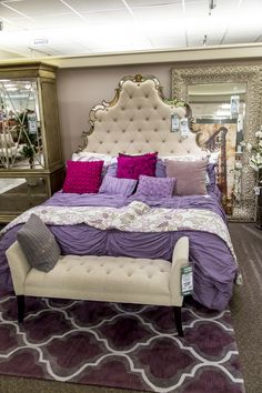 This bedroom set is one of a kind, no one will have anything like this. It is sure to standout.