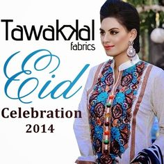 Tawakkal Fabrics Eid Rang Celebration Collection 2014 1 Tawakkal Fabrics Eid Rang Celebration Collection 2014