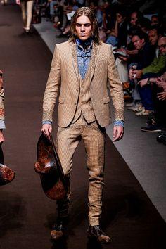 Etro Menswear - Pasarela-Etro Menswear - Primavera/Verano 2014