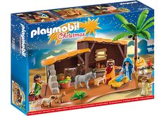 Nativity Stable with Manger - 5588 - PLAYMOBIL® USA