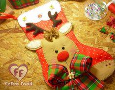 Bota de Natal em Feltro