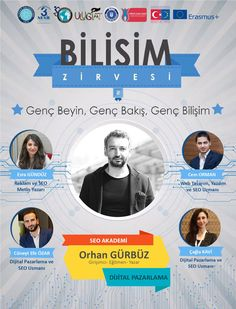 2 - 3 Mayıs 2017 tarihlerinde Uludağ Üniversitesi Bilişim Zirvesi'nde Dijital Pazarlama Eğitimi vereceğiz. http://www.seoakademi.com.tr http://www.cemorman.com.tr