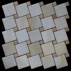 Mozaika marmurowa -  Kolekcja: Tetra 5015 Wave; Kod: TW501510; Wykończenie: ANTICO; Materiał: Onyks, Onyks Yellow; Wym. Kostki: 5,0x5,0 cm, 1,5x1,5 cm; Wym. Plastra:  28,7x28,7 cm