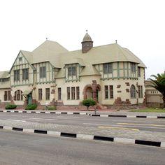 Gefängnis, Swakopmund Colonial Architecture, West Africa, Adventure Awaits, Beach Resorts, Diversity, Passport, Castles, To Go, Landscapes